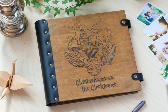 Photo Album, Unique Harry Potter Gifts, Book Riot