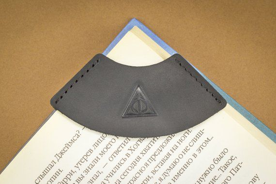 Leather Bookmark, Unique Harry Potter Gifts, Book Riot