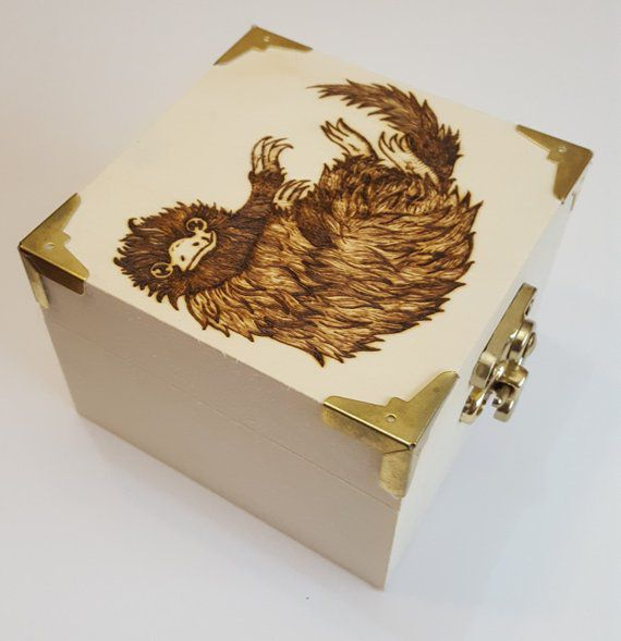 Niffler Trinket Box, Unique Harry Potter Gifts, Book Riot