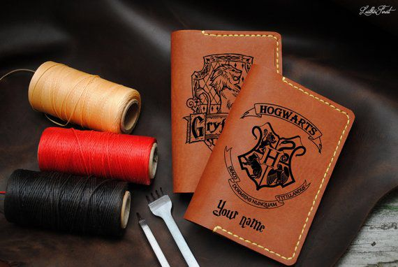 Passport Cover, Unique Harry Potter Gifts, Book Riot