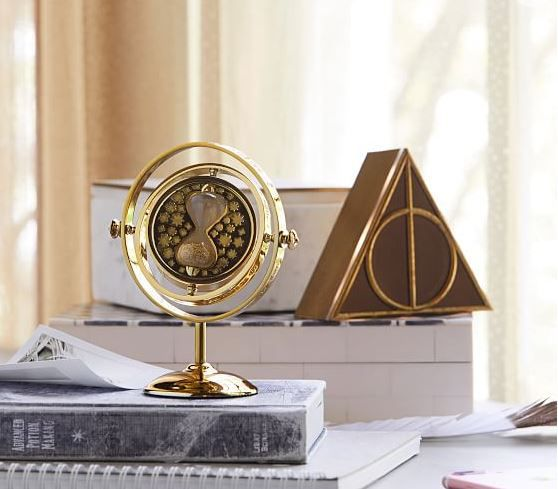 Time Turner Clock, Unique Harry Potter Gifts, Book Riot
