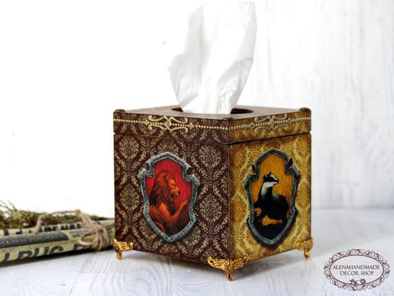 Harry Potter Tissue Box, Unique Harry Potter Gifts, Book Riot