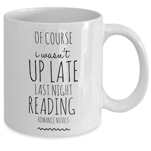 up late reading romance genre bookish mug romance reader gifts