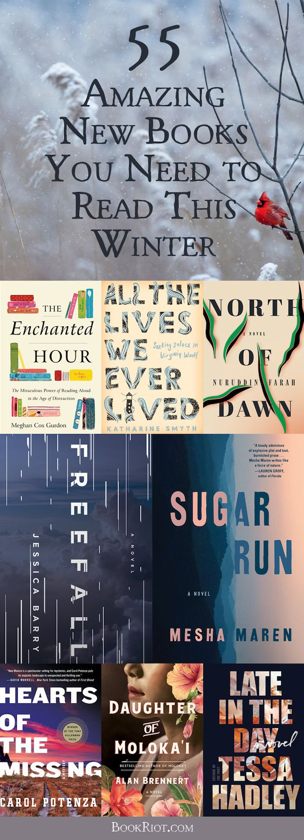 55 Amazing New Books You Need to Read This Winter
