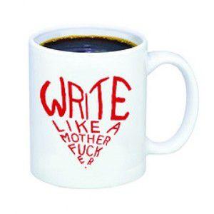 write like a motherfucker mug gifts for english teachers