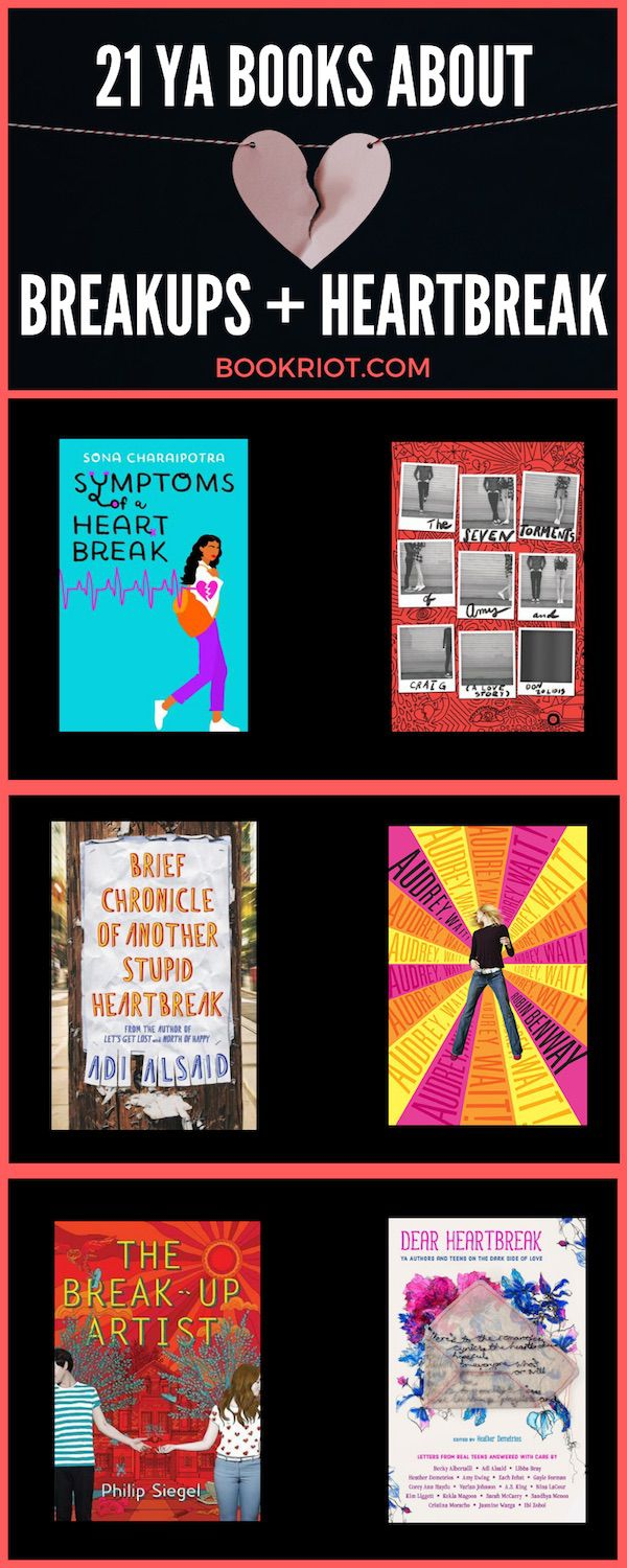 All of the feels are here in these 21 YA books about breakups and YA books about heartbreak. Grab your tissues, but also be ready to laugh. Teen love is rough! book lists | YA books | YA book lists | #YALit | breakup books | YA books about breakups | YA Books about heartbreak | tearjerker books | books about relationships