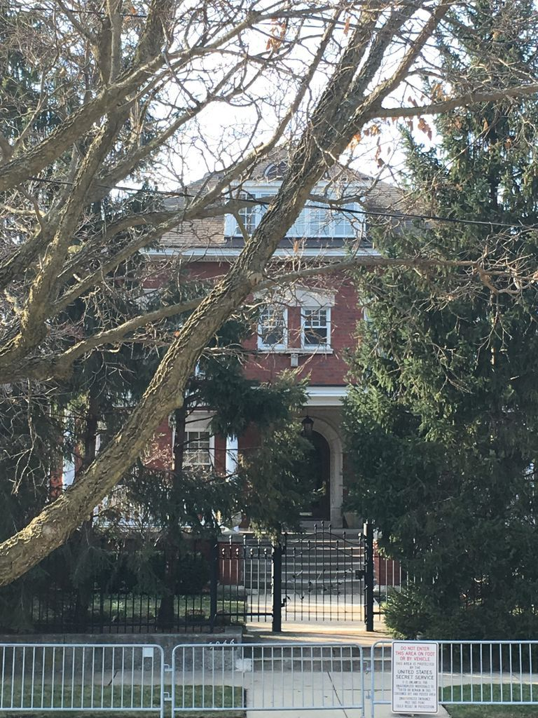 Barack and Michelle Obama's home in Chicago