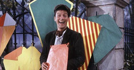 Bert in Mary Poppins 1964 film still