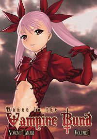 Dance in the Vampire Bund volume 1 cover - Nozomu Tamaki
