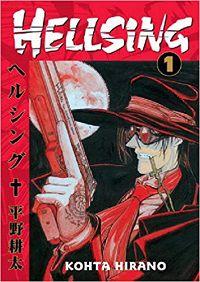 Hellsing volume 1 cover - Kohta Hirano