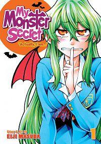 My Monster Secret volume 1 cover - Eiji Masuda