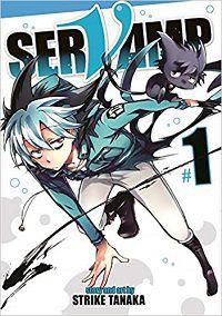 Servamp volume 1 cover - Strike Tanaka