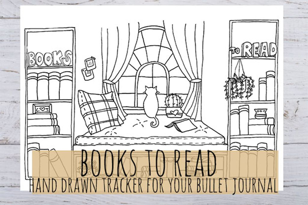 photograph about Books to Read Printable referred to as Start out Your BuJo: The Easiest Bullet Magazine Products For