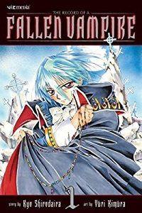 The Record of a Fallen Vampire volume 1 cover - Kyo Shirodaira & Yuri Kimura