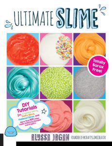 ultimate slime book cover by alyssa jagan