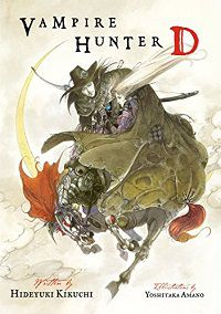 Vampire Hunter D cover - Hideyuki Kikuchi