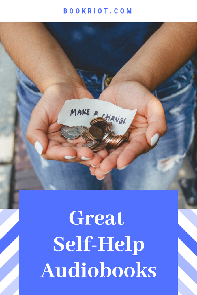 Up your resolution game with these excellent self-help audiobooks. self help | self help books | self-help audiobooks | audiobook lists