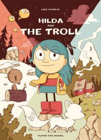 Hilda and the Troll book cover
