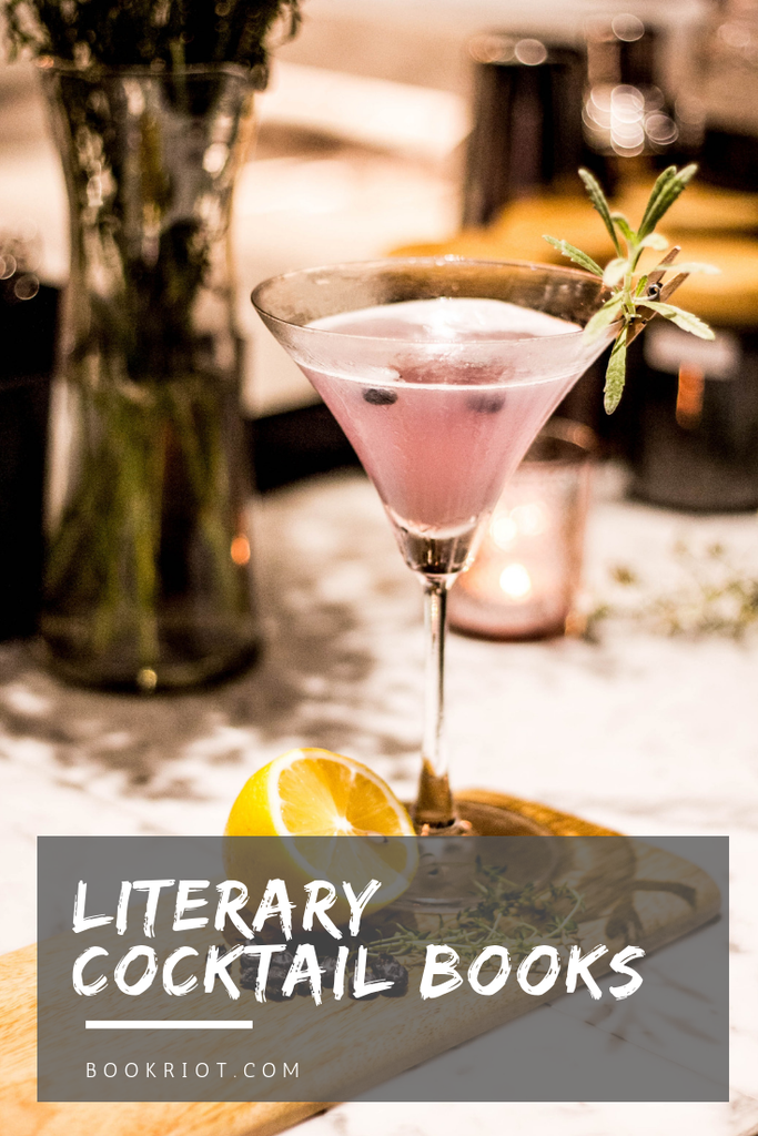 Bottoms up! Enjoy these literary cocktail books. cocktails | cocktail books | literary cocktails