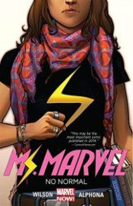Ms. Marvel Vol. 1 cover