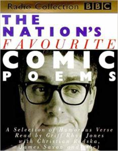 Nation's Favourite Comic Poems book cover