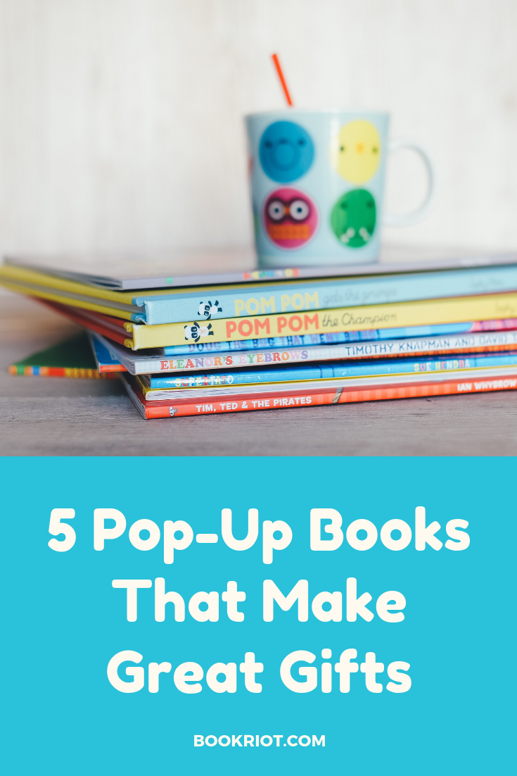 5 pop-up books that make for great gifts and great reads. pop-up books   books for young readers   books for children   book lists   gift book ideas