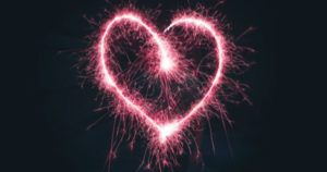 romance heart fireworks feature