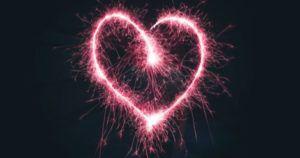romance heart fireworks feature