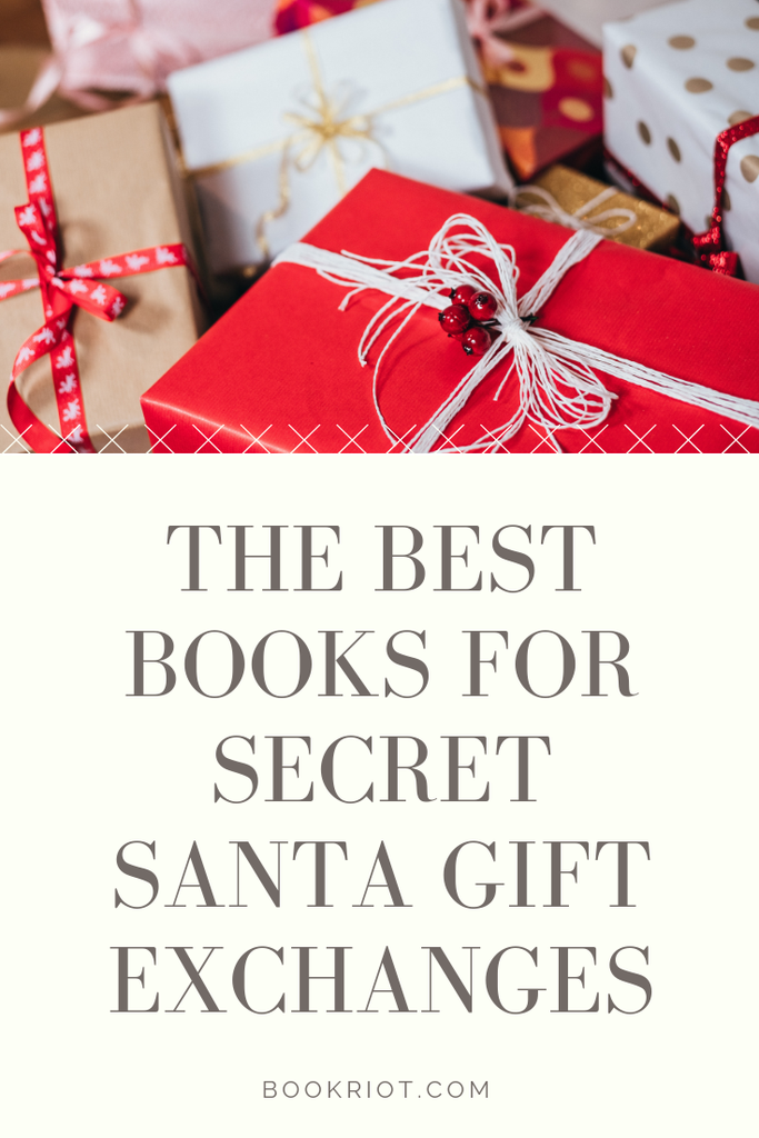 Looking for the perfect books for your secret santa exchange? We can help! secret santa | swiss army book recommendations | book recommendations