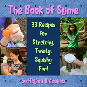 the book of slime by helena macalino cover