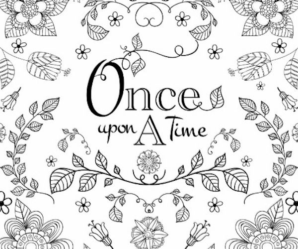 Once Upon a Time wrapping paper