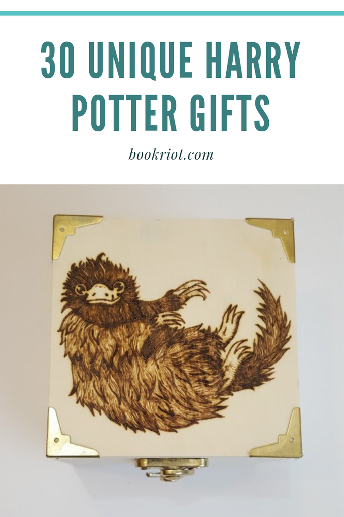 Accio presents! Check out these 30 unique Harry Potter gifts. harry potter | harry potter gifts | awesome harry potter gifts | unique harry potter gifts | gifts for book lovers