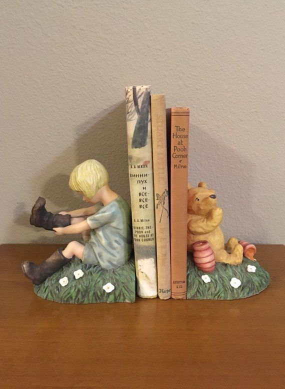 Vintage Classic Pooh Bookends