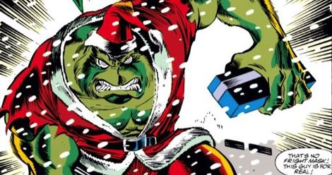 worst ways superheroes have spent the holidays