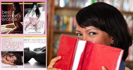 Giveaway: BEST WOMEN'S EROTICA OF THE YEAR Vol. 1-4