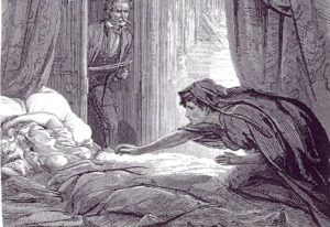 Illustration from Carmilla by Joseph le Fanu, Ireland