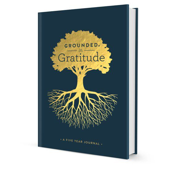 Grounded in Gratitude five year journal