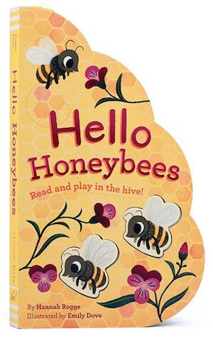 Hello Honeybees by Hannah Rogge and Emily Dove book cover