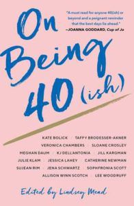 On Being 40(ish) cover