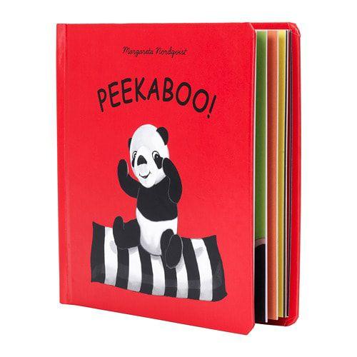 Peekaboo picture book at IKEA
