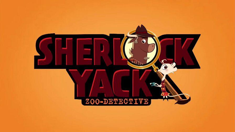 Sherlock Yack Title Card