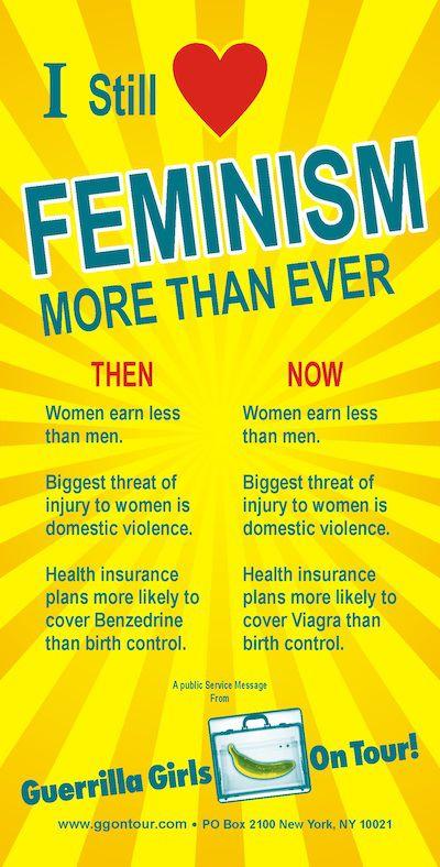Still_love_feminism; Photo credit: Donna Kaz