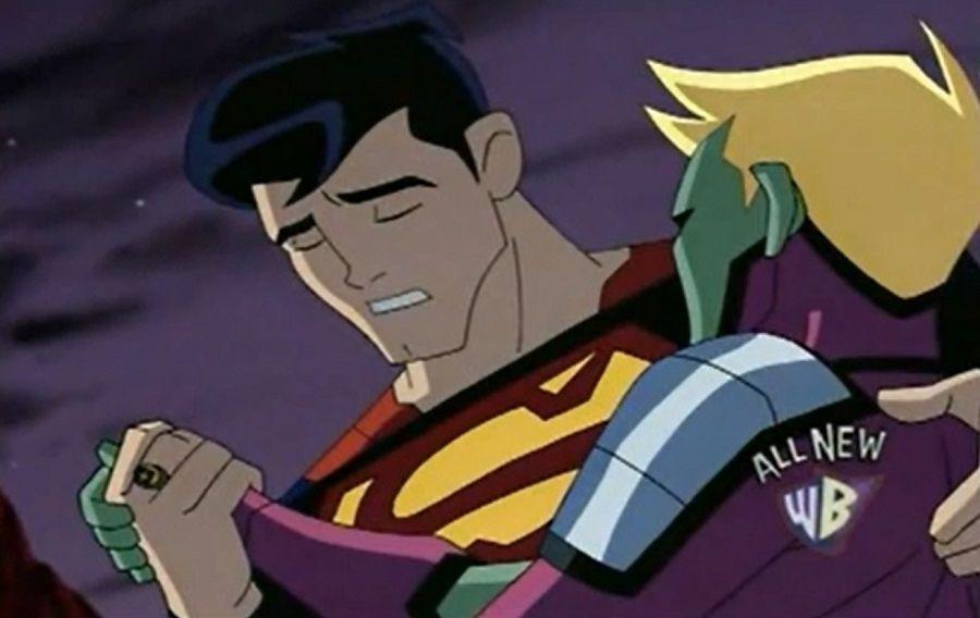 Superman and Brainiac 5 Legion of Super-Heroes