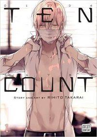 Ten Count volume 1 cover - Rihito Takarai