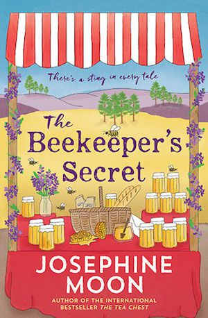 The Beekeepers Secret by Josephine Moon book cover