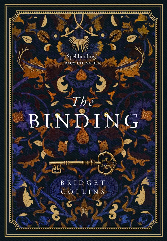 Book cover of The Binding by Bridget Collins