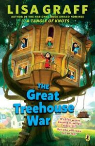 The Great Treehouse War_Lisa Graff