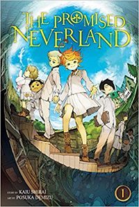 The Promised Neverland volume 1 cover - Kaiu Shirai & Posuka Demizu