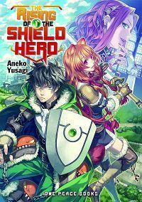 The Rising of the Shield Hero volume 1 cover - Aneko Yusagi
