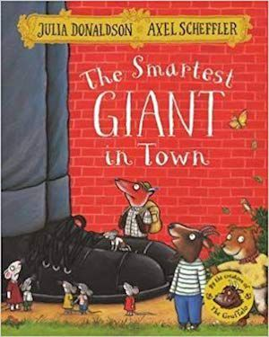 The Smartest Giant in Town by Julia Donaldson book cover